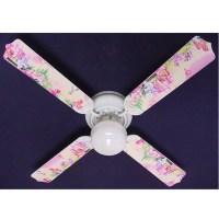 Girls Pink My Little Pony Print Blades 42in Ceiling Fan ...