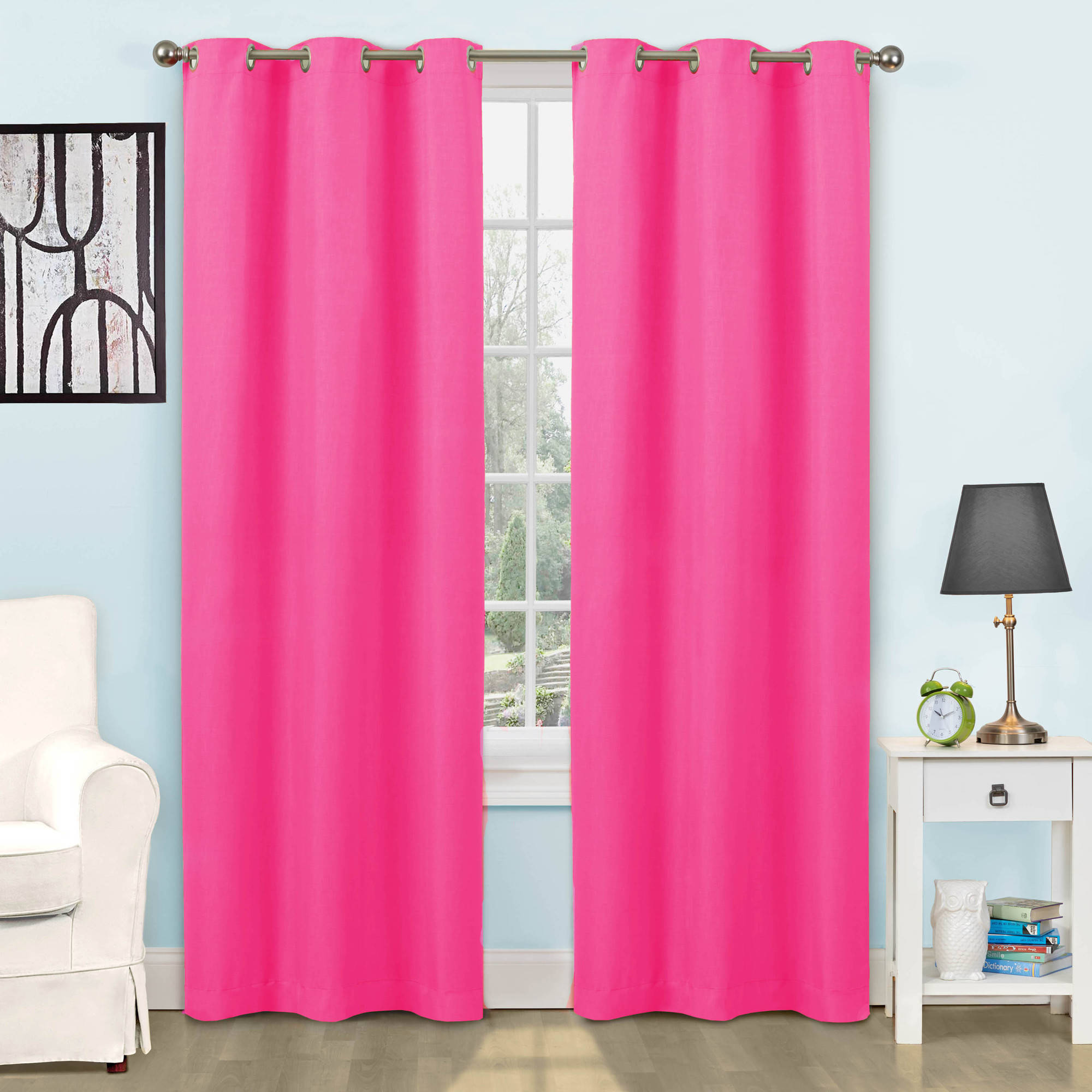 Eclipse dayton blackout energy efficient kids bedroom curtain panel