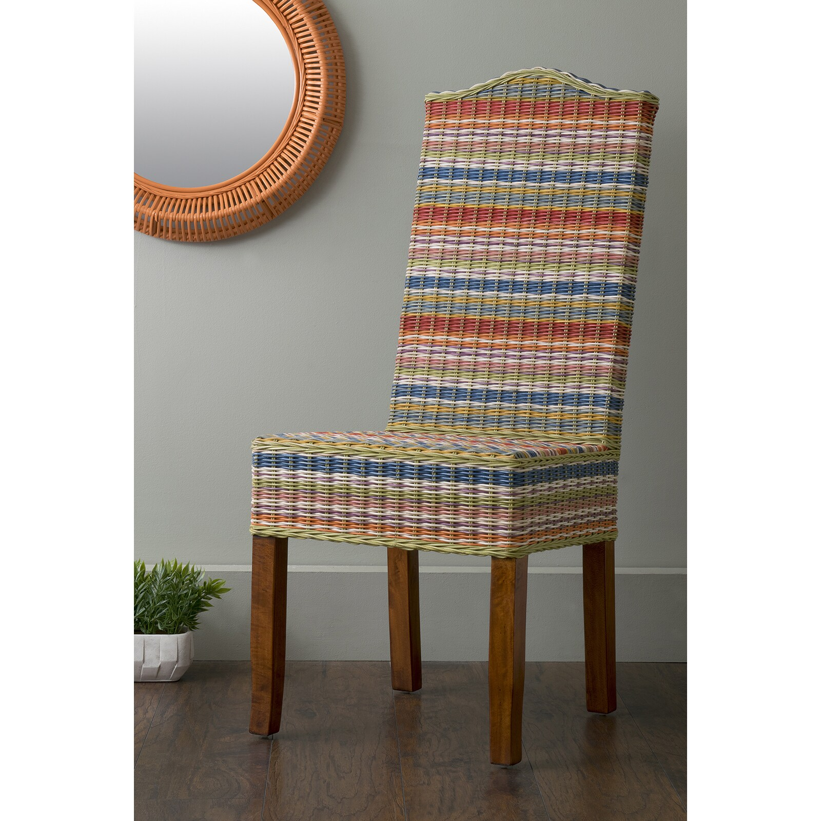 Outdoor Bubble Bett East At Main S Heaton Multi Colored Rattan Dining Chair N