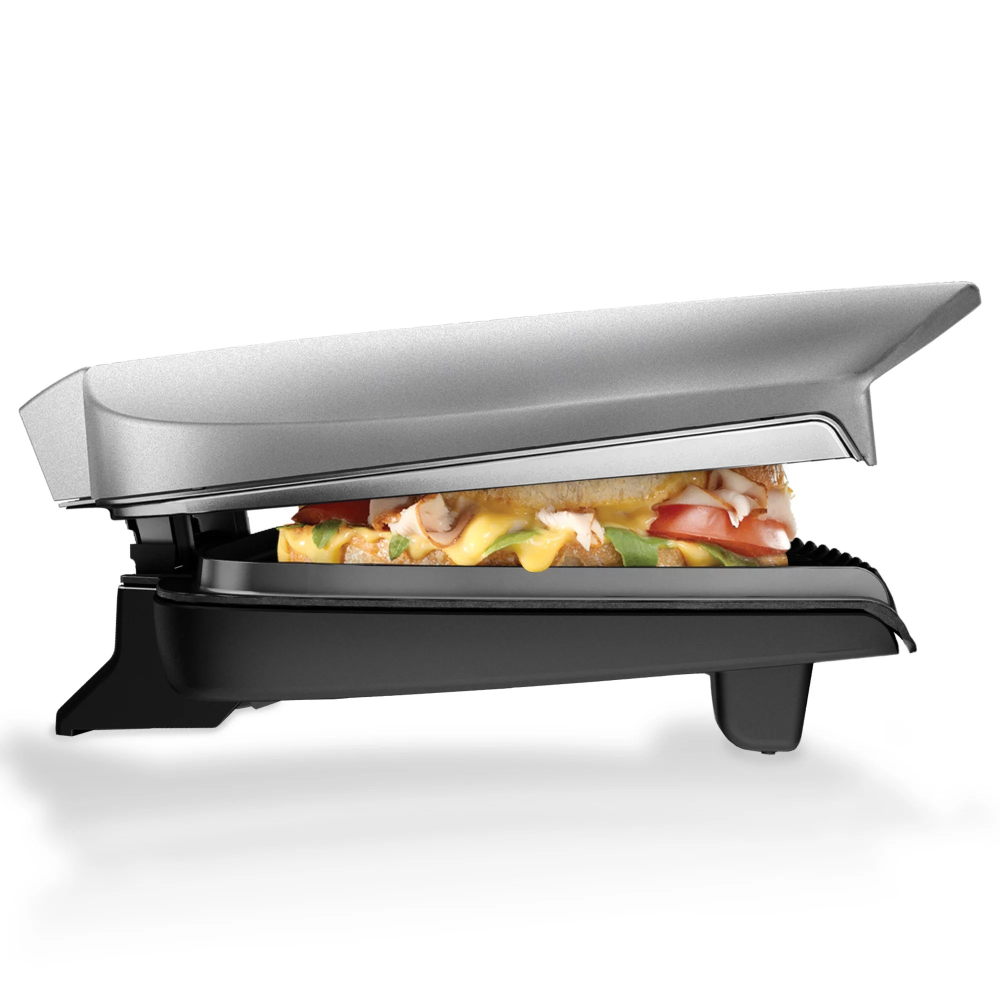Grille Panini George Foreman 9 Serving Classic Plate Electric Indoor Grill And