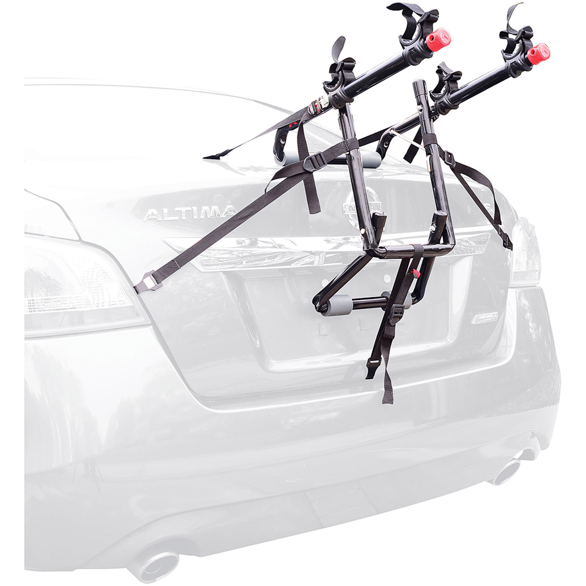 2 Car Garage Bike Storage Allen Sports Deluxe 2 Bicycle Trunk Mounted Bike Rack Carrier 102dn