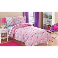 Mainstays Kids Rainbow Unicorn Bed in a Bag Complete ...
