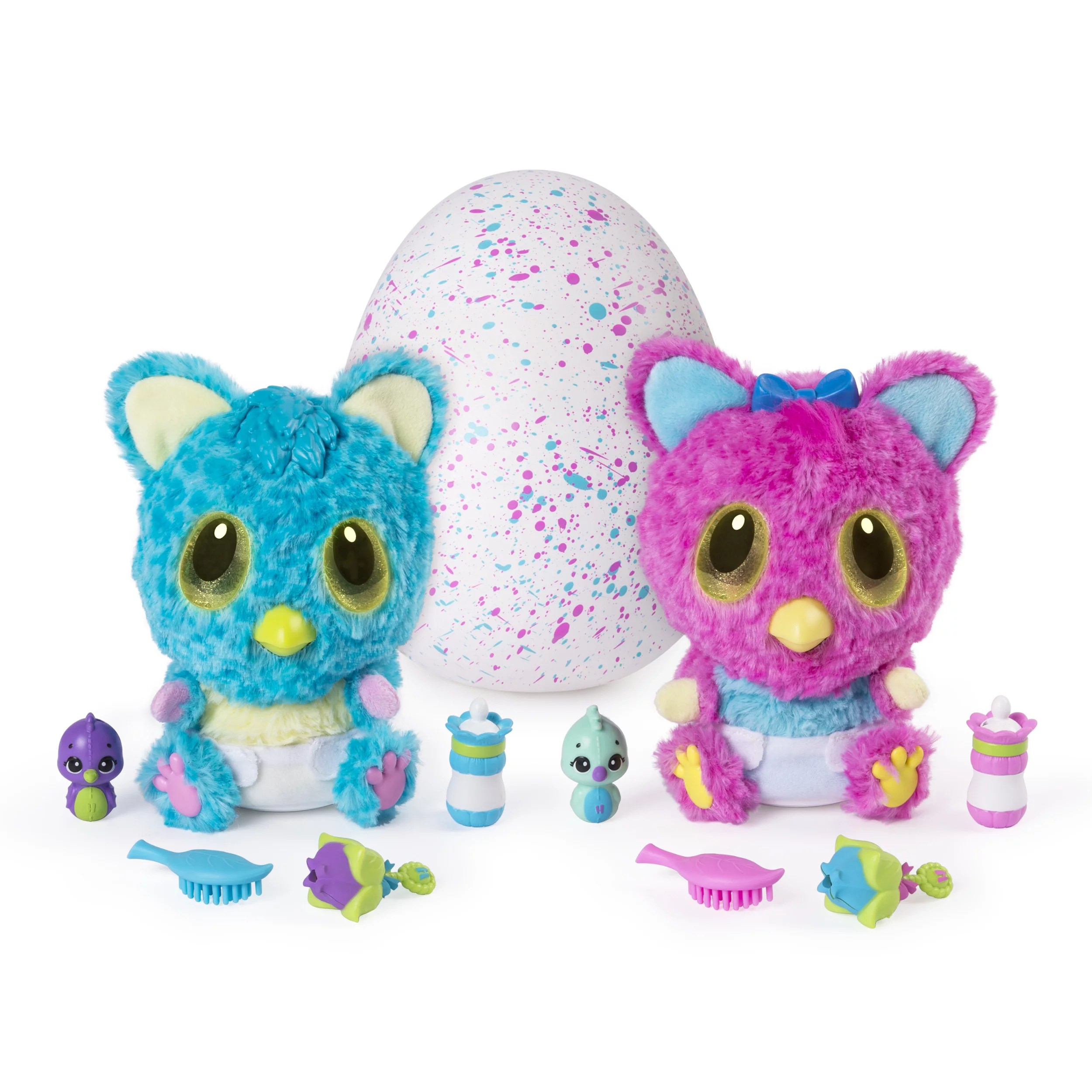 Babies Interactive Toys Hatchimals Hatchibabies Cheetree Hatching Egg With Interactive Toy Pet Baby Styles May Vary For Ages 5 And Up Walmart