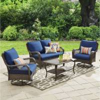 Better Homes and Gardens Colebrook 4 Piece Outdoor ...