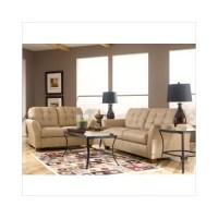Ashley Furniture Carmichael Leather Sofa and Loveseat Set ...