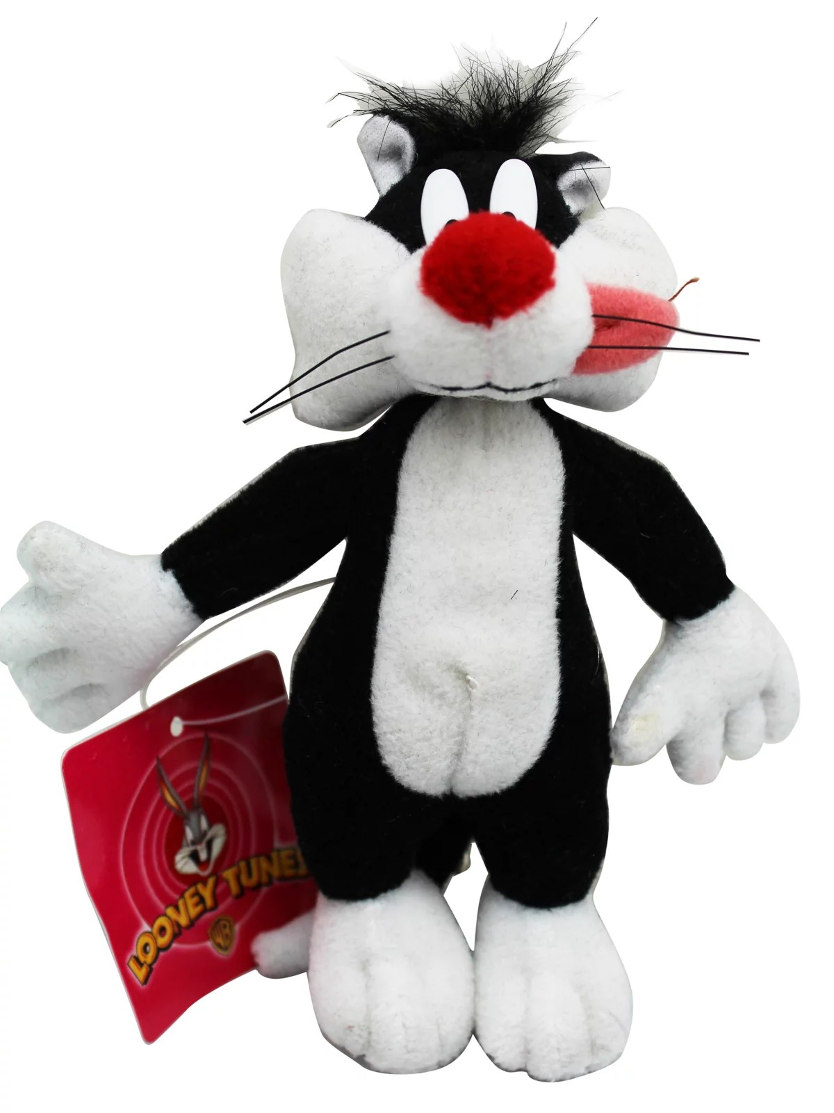 Cat Plush Toy Sylvester The Cat Miniature Kids Plush Toy With Secret Pocket 5in