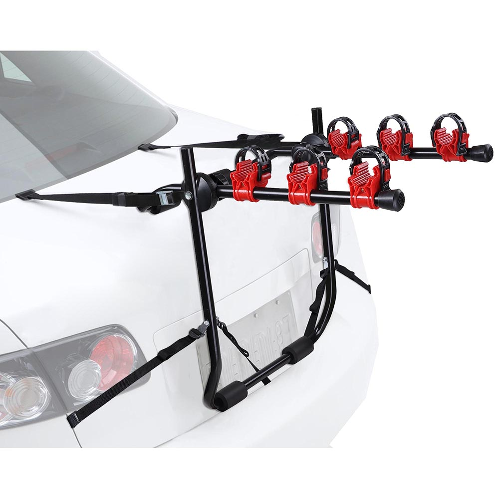 Yescom 3 Bike Truck Mount Bicycle Carrier Car Suv Foldable