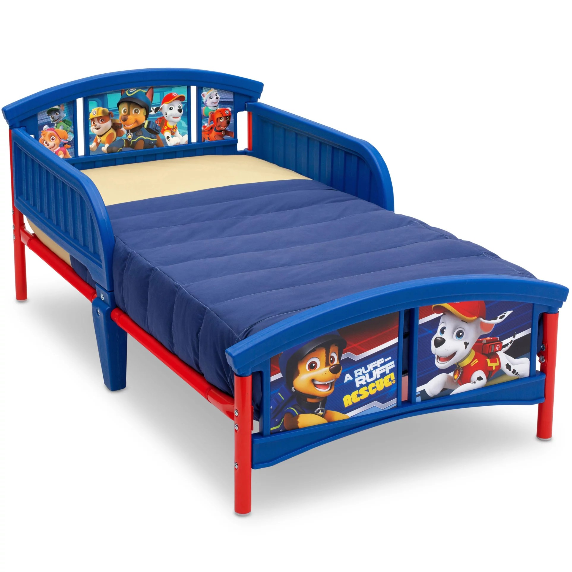 Cheap Toddler Beds Delta Children Nick Jr Paw Patrol Plastic Toddler Bed Blue
