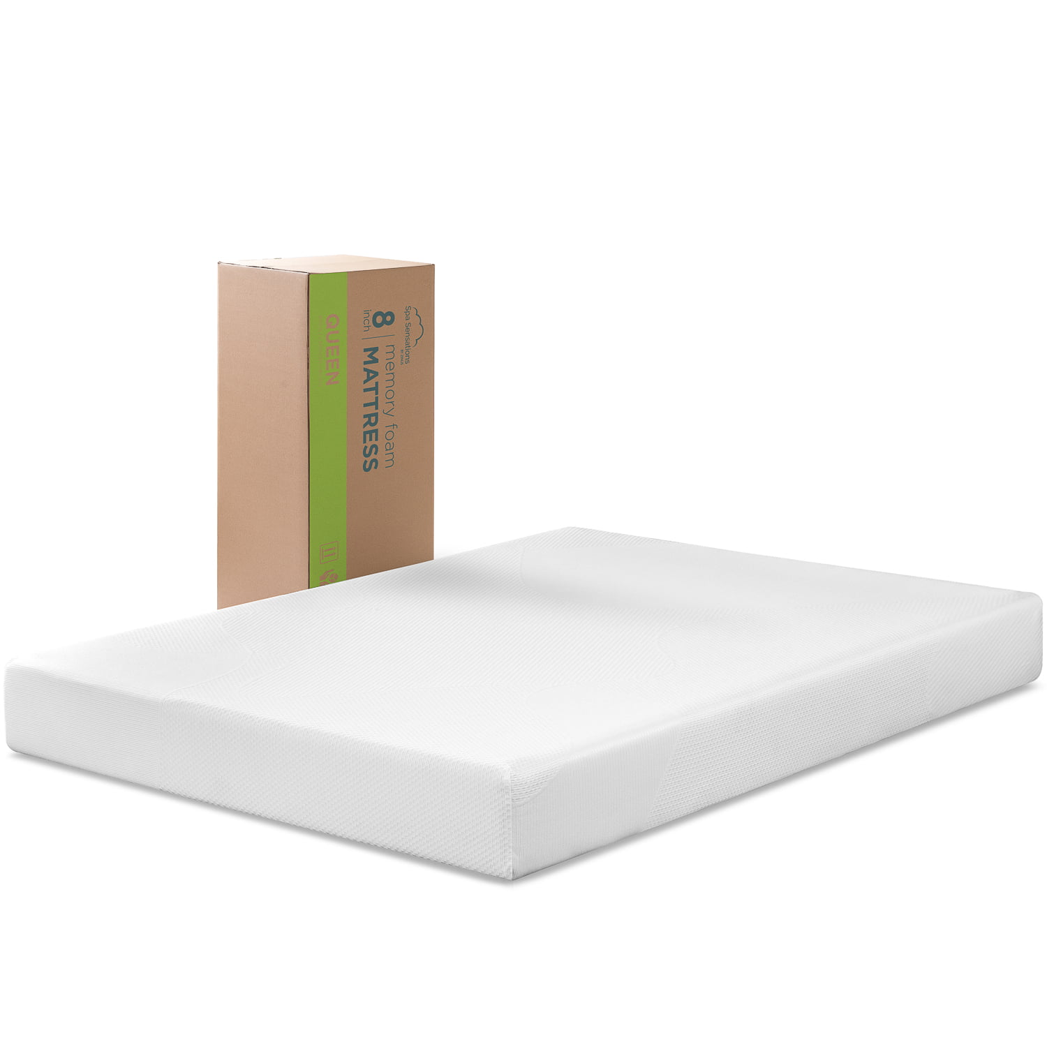Expanded Queen Mattress Spa Sensations By Zinus 8