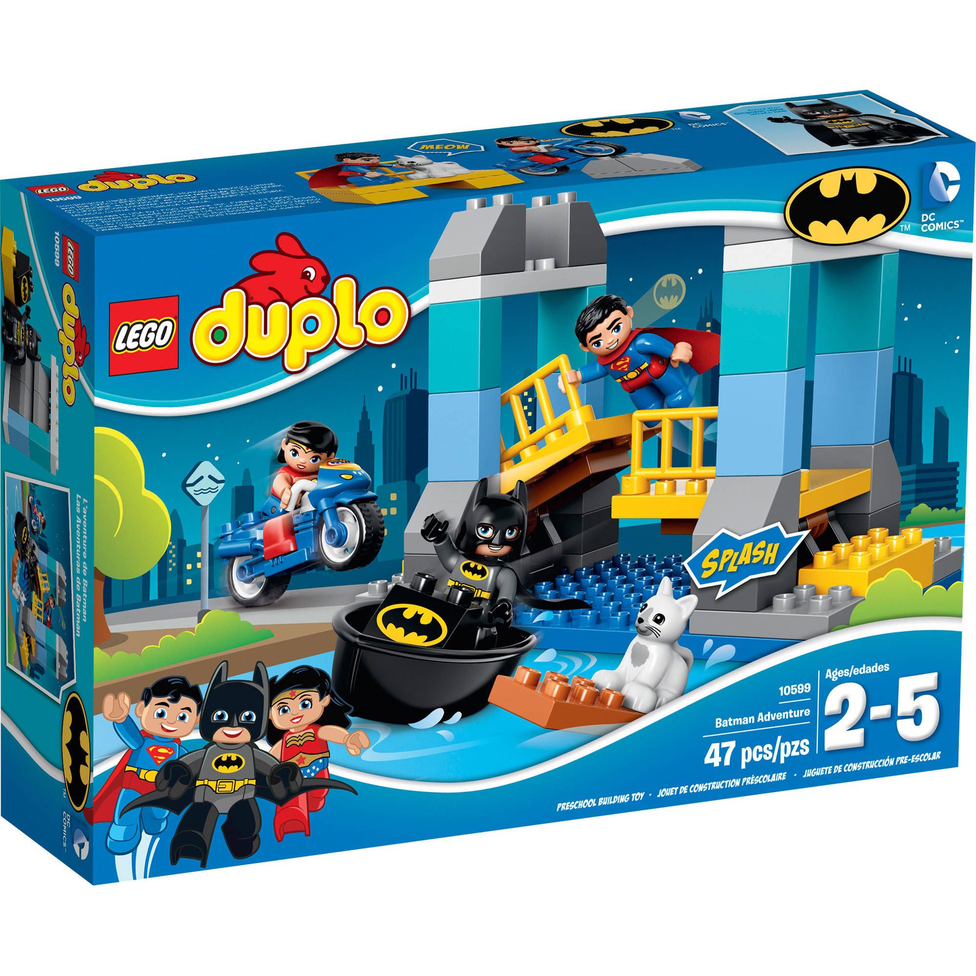 Lego Duplo Super Heroes Batman Adventure 10599 Walmart