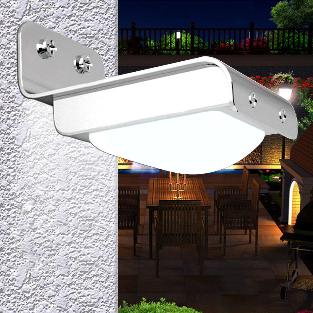 Motion Detector Lights Outdoor Gzyf 16 Leds Solar Powered Motion Sensor Garden Security Light Outdoor Patio Yard Driveway Waterproof Lamp Light White