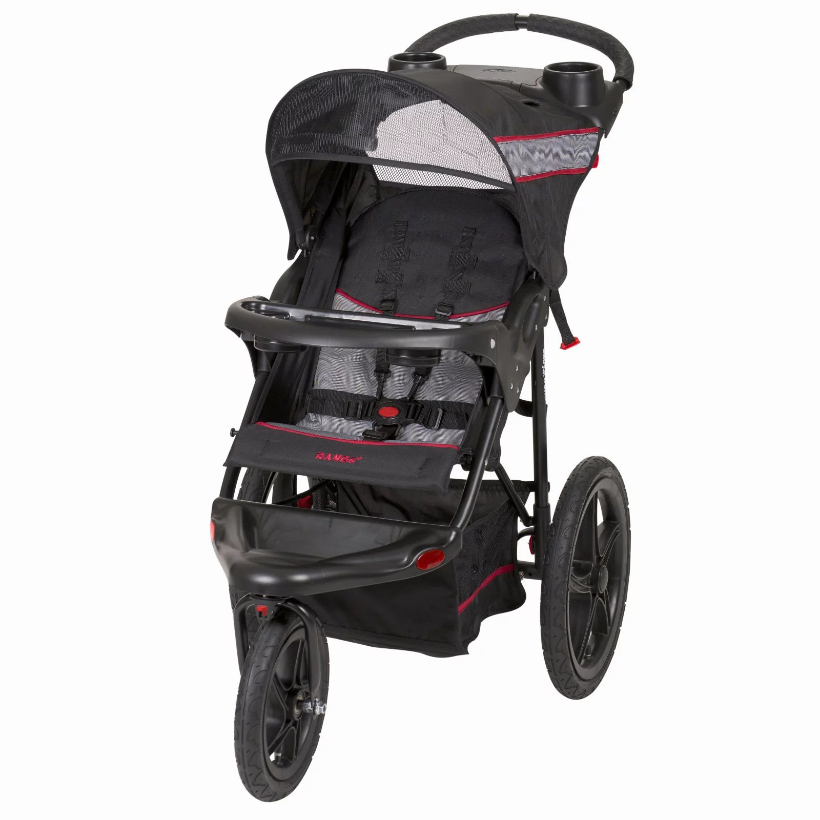 Travel Buggy With Sunroof Baby Trend Range Jogging Stroller Millennium Walmart