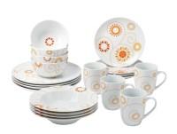 Rachael Ray Dinnerware Pinwheel 20-Piece Porcelain ...