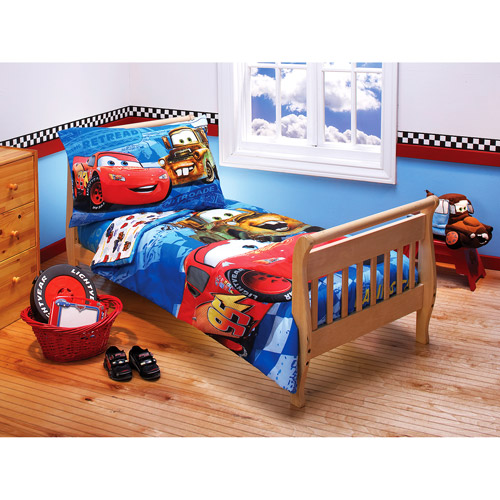 Cars Wallpaper Border Walmart Discontinued Disney Cars Racing Team 4 Piece Toddler