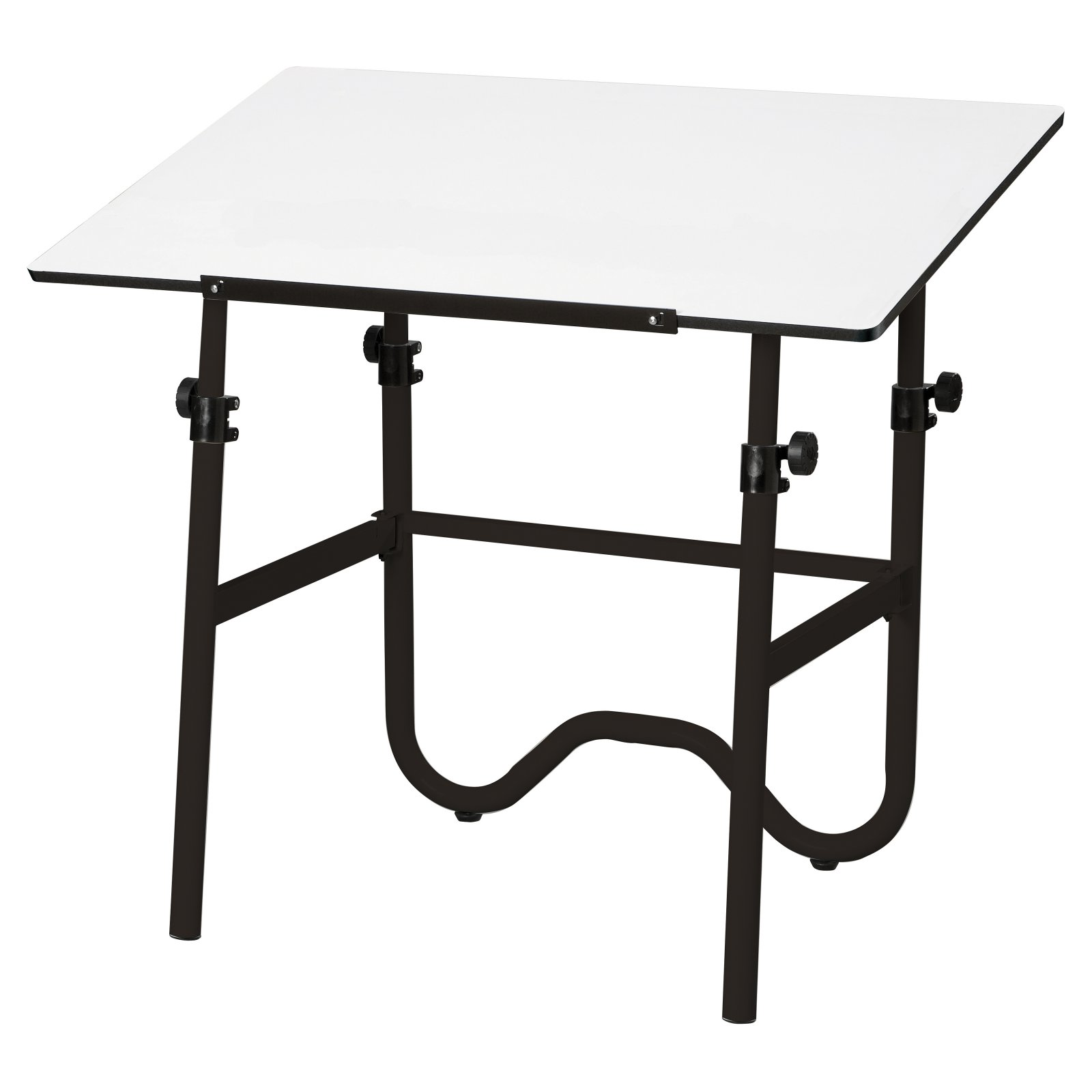 Adjustable Height Drafting Table Alvin Onyx Stow N Go Adjustable Height Drafting Table With Chair