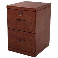 2-Drawer Classic Vertical File Cabinet, Rich Cherry ...
