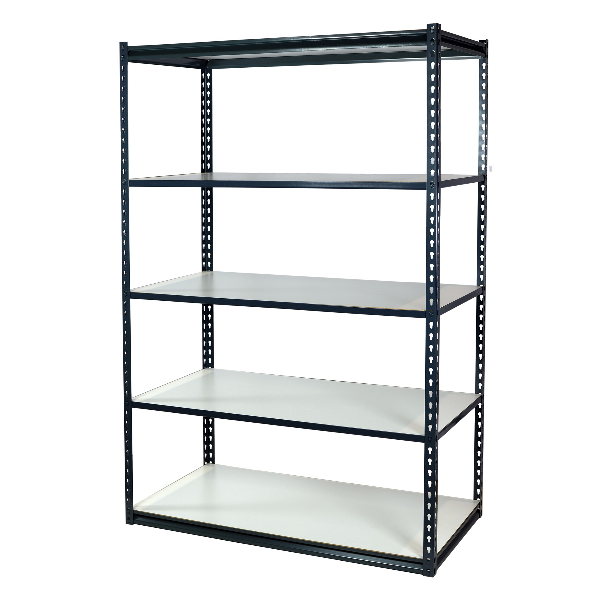 Garage Shelving Units Storage Max Garage Shelving Boltless 36 X 12 X 72 Heavy Duty 5 Shelves