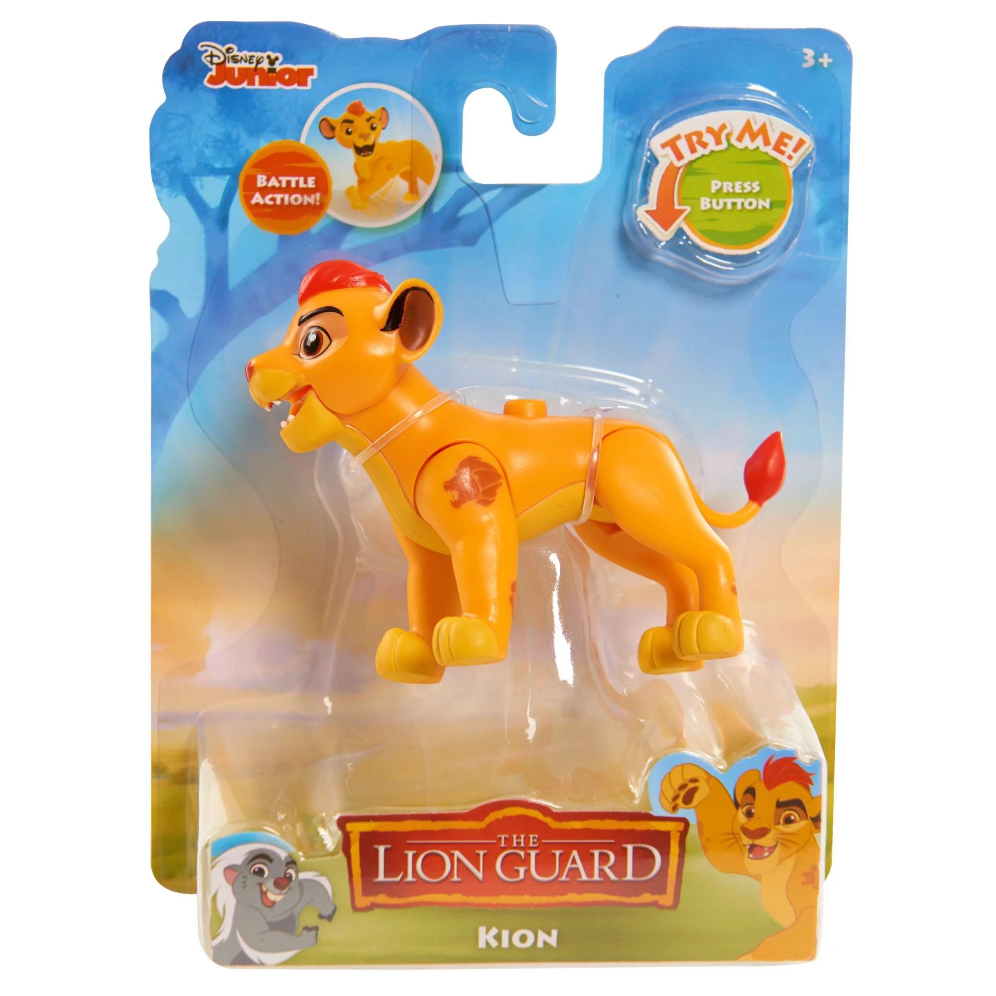 Disney Disney Lion Guard Action Figures Kion Walmart
