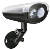 LED Solar Powered Outdoor Security Light with PIR Motion ...