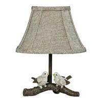 """AHS Lighting 06106 - 1 Light 12"""" Birds On Branch Table ..."""