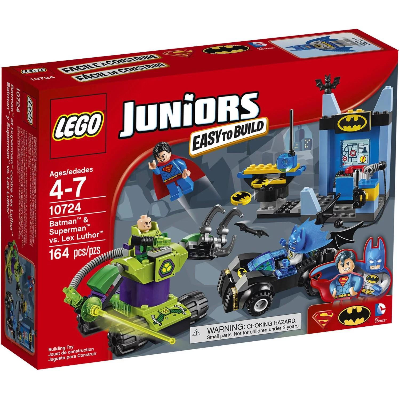 Lego Juniors Batman Superman Vs Lex Luthor Building Set