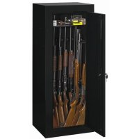 Stack-On Convertible 18-Gun Cabinet, Black - Walmart.com