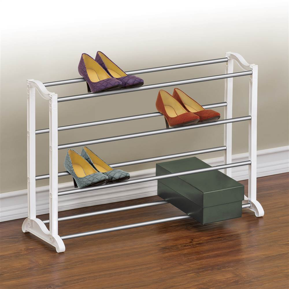 Lynk 20 Pair Shoe Rack 4 Tier Shoe Shelf Organizer