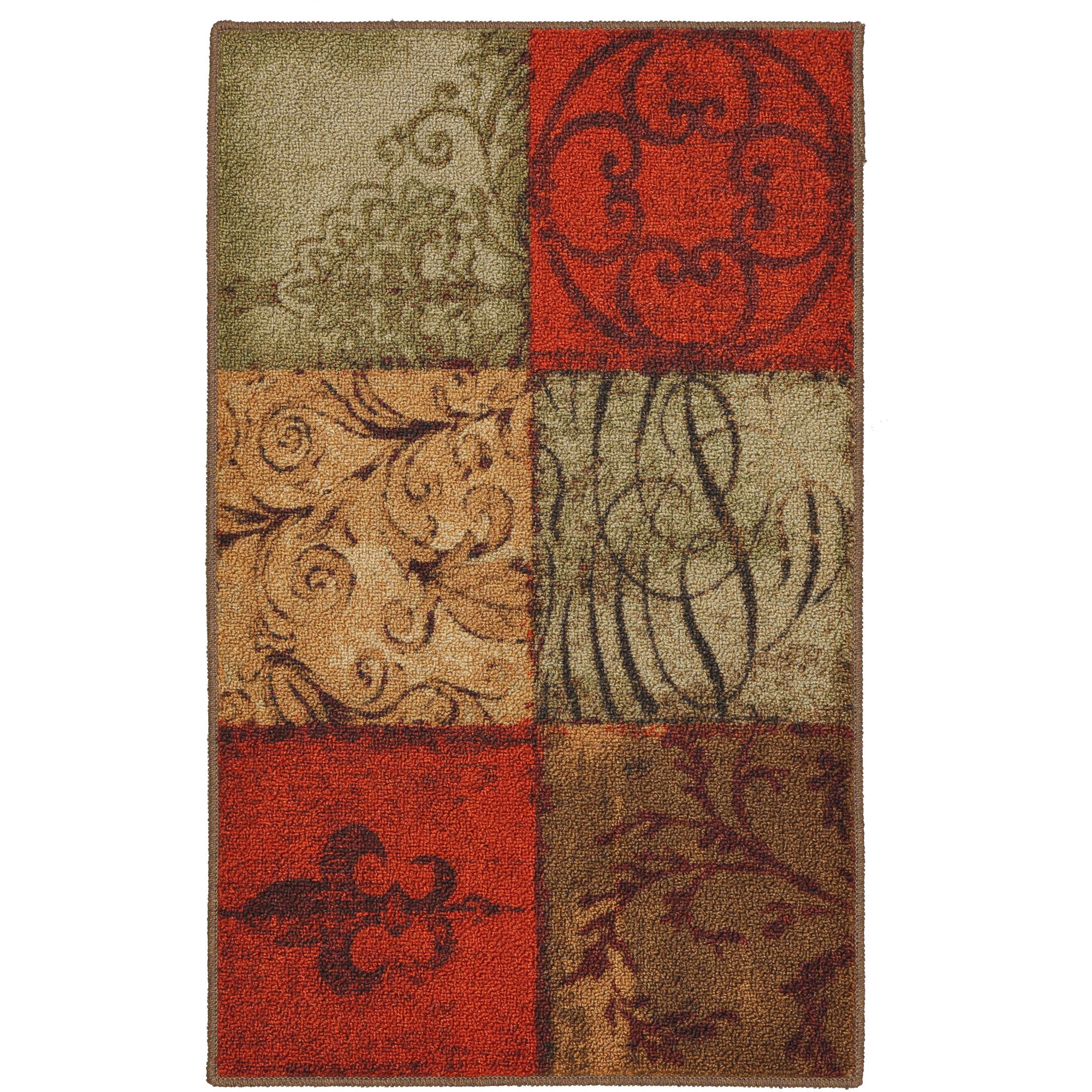 Kitchen Rugs Mainstays Cushioned Kitchen Mat 1 Each