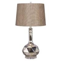 Fangio Lighting Mercury Glass 29.5'' H Table Lamp ...