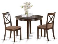 3-Pc Round Dining Table Set - Walmart.com