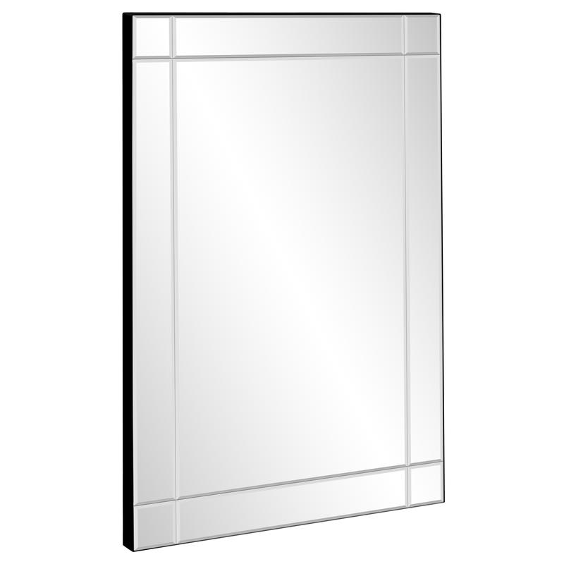 Best Choice Products 36x24in Rectangular Bedroom Bathroom Entryway Decorative Frameless Wall