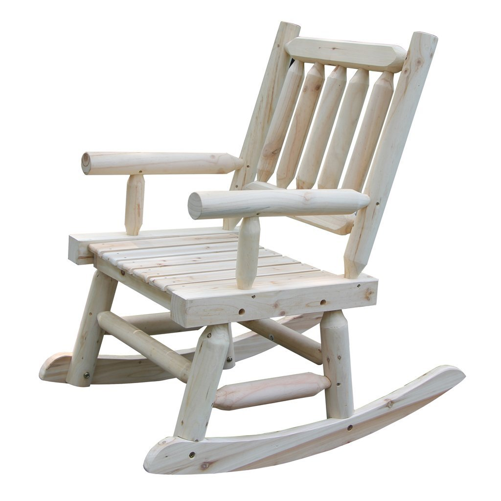 Chairs Comfortable Vh Furniture Wooden Rocking Chair With Natural Material Comfortable Oversized Patio Furniture Single
