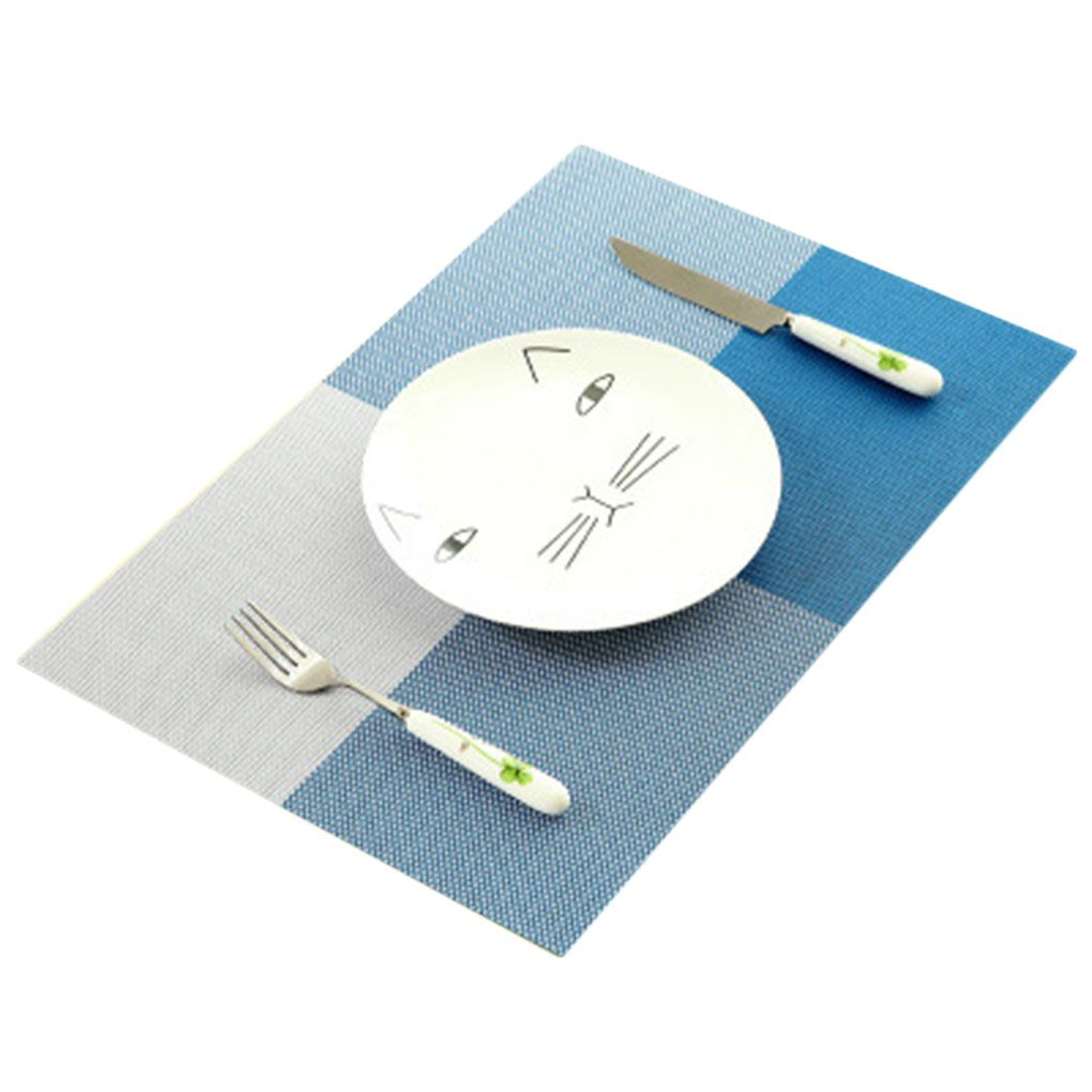 Pvc Placemats Pvc Quick Drying Placemats Dining Tableware Pad Insulation Mats Kitchen Tools