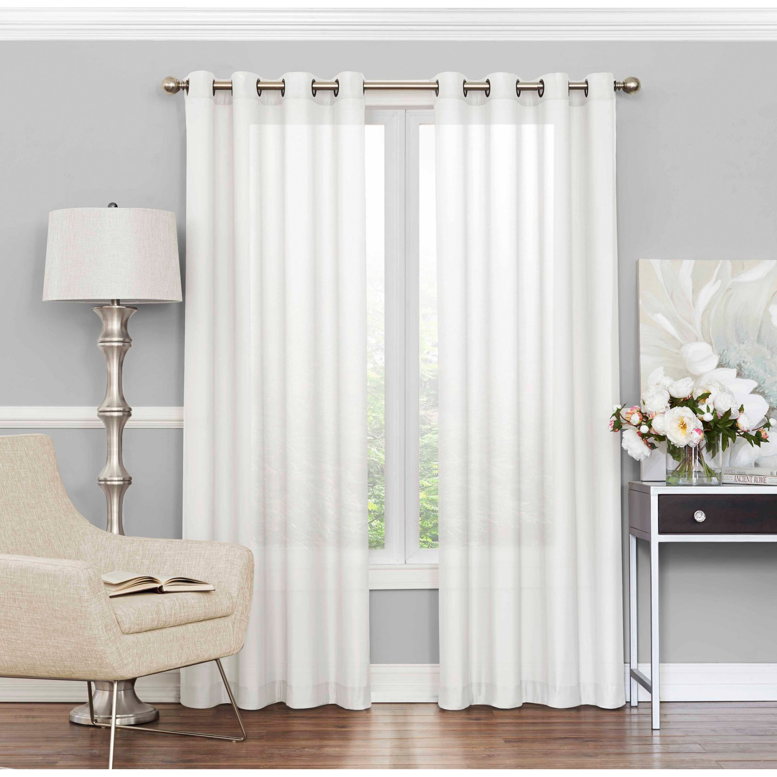 How To Make Curtain Lights Eclipse Liberty Light Filtering Sheer Curtain