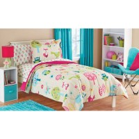 Mainstays Kids Woodland Bed in a Bag Coordinating Bedding ...