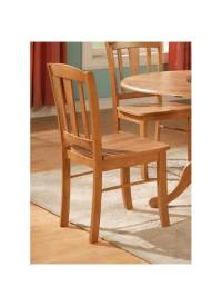 Wooden Kitchen Chair - Set of 2 - Walmart.com