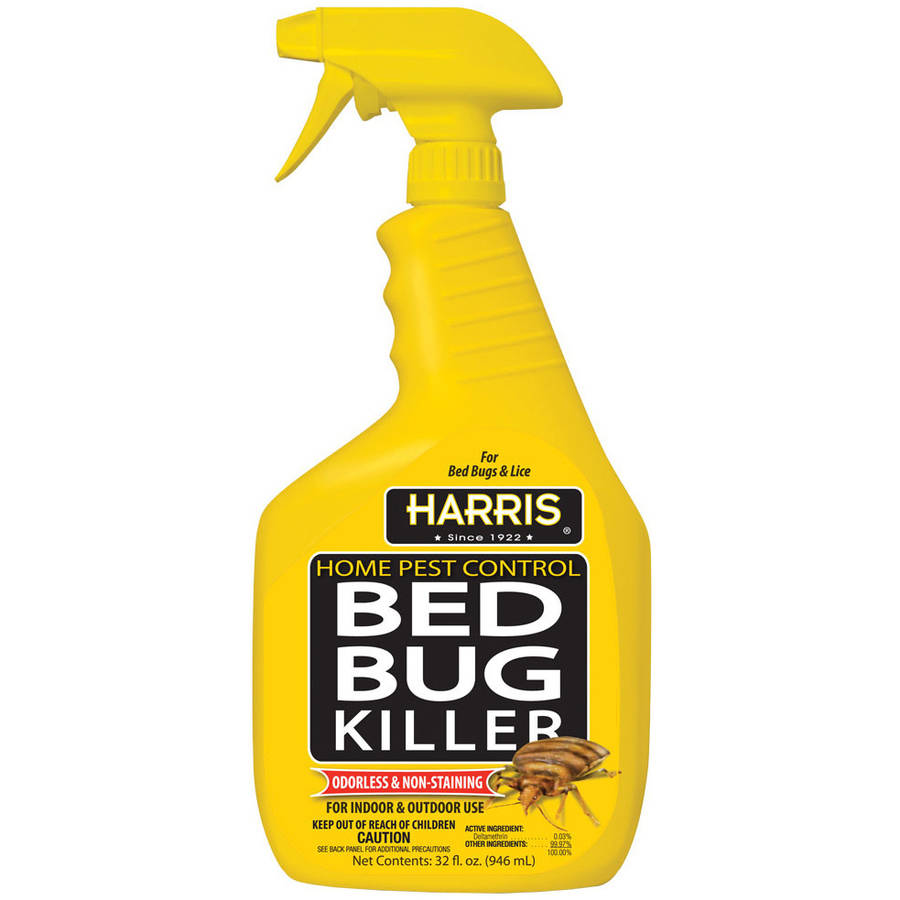 Sprays For Bed Bugs Harris Toughest Bed Bug Killer 32oz Spray