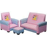 Disney Princess Toddler Sofa, Chair and Ottoman Set ...