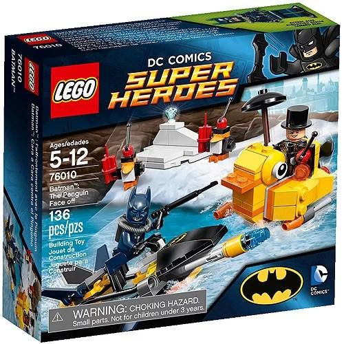 Lego Super Heroes Batman The Penguin Face Off Play Set