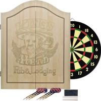 TG King's Head Value Dartboard Set, Light Wood - Walmart.com