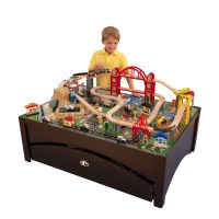 KidKraft Metropolis Train Set & Table with 100 accessories ...
