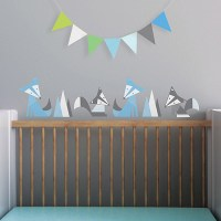 Foxes Fabric Wall Decals - Walmart.com