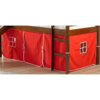 Donco Kids Curtain Set for Twin Loft Bed - Walmart.com