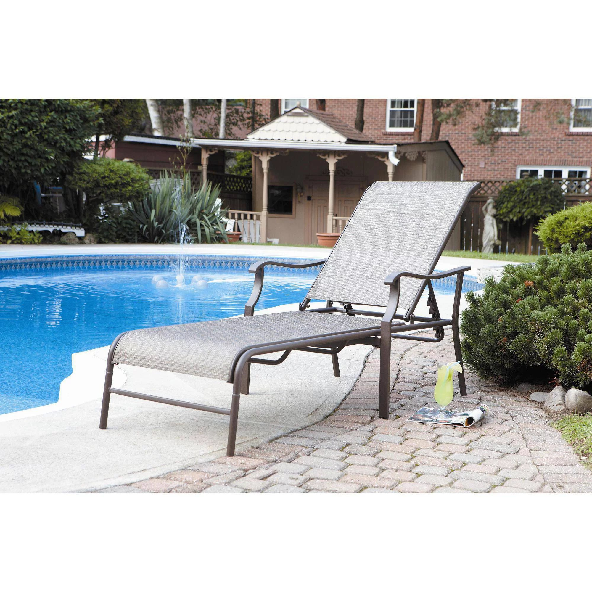 Pool Chaise Lounge Chairs Outsunny Outdoor Patio Synthetic Rattan Wicker 3 Pc Chaise Lounge Chair Set W Side Table