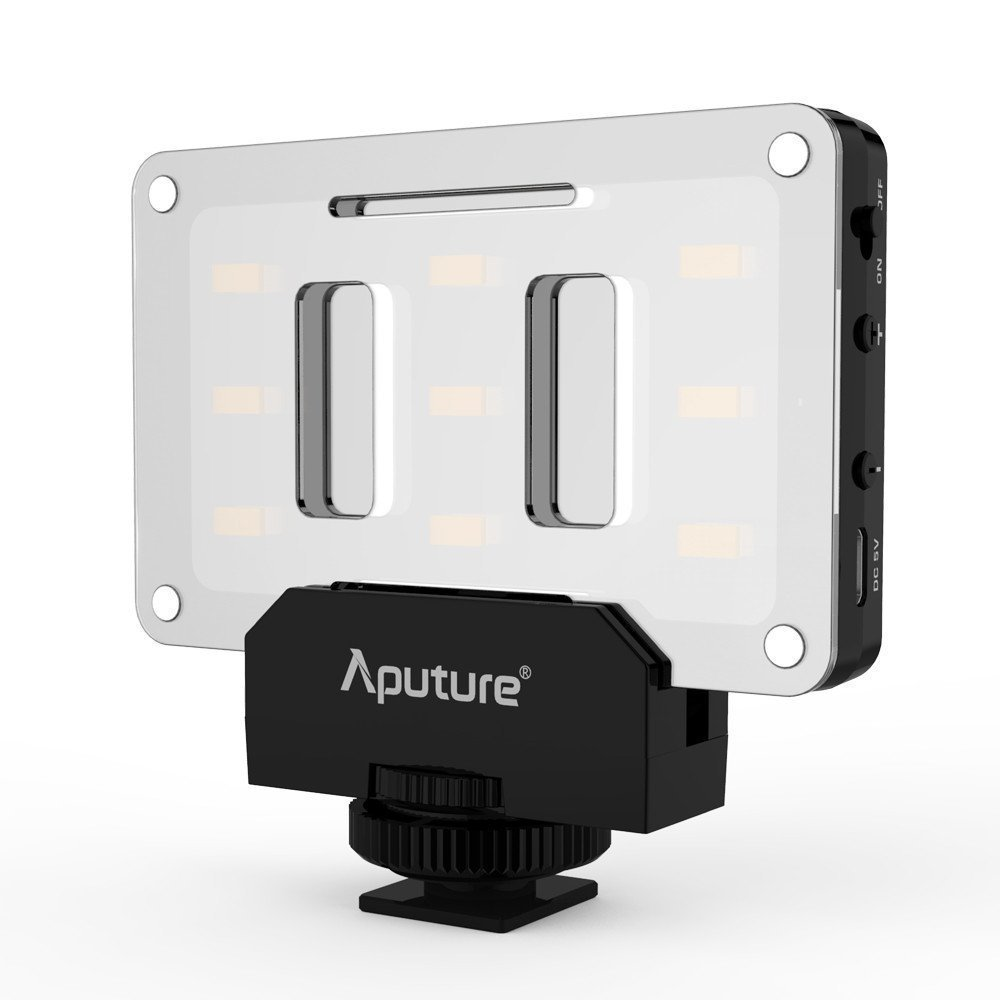 Mini Lampe Led Aputure Al M9 Amaran Led Mini Light On Camera Video Light Black