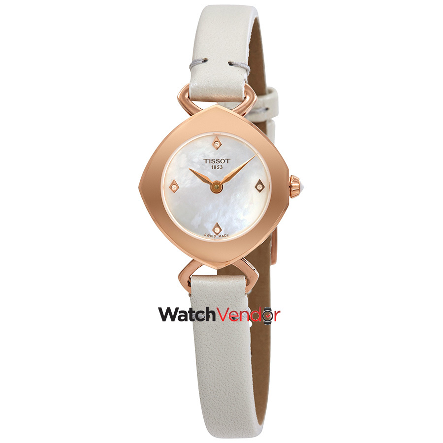 Meuble Tissot Tissot Femini T Mother Of Pearl Dial Ladies Watch T113 109 36 116 00