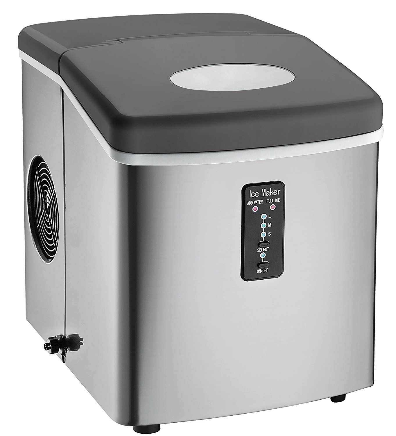 Countertop Ice Maker Walmart Igloo Countertop Compact 26 Lb Portable Freestanding Ice Maker With Over Sized Ice Bucket Ice103 Stainless Steel Refurbished