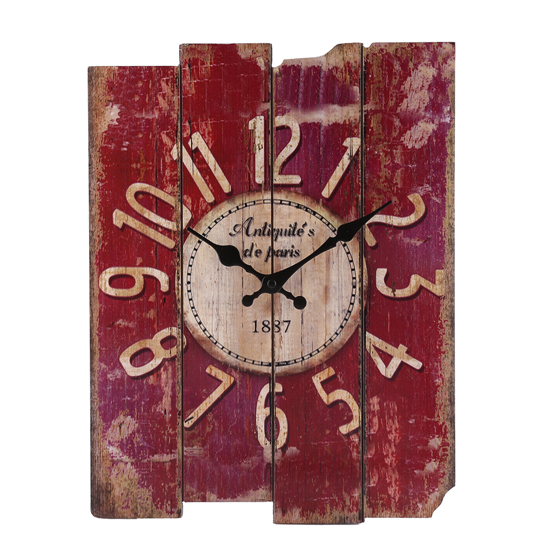 Where To Hang Wall Clock In Living Room Creative Retro Style Square Hanging Clock Delicate Wall