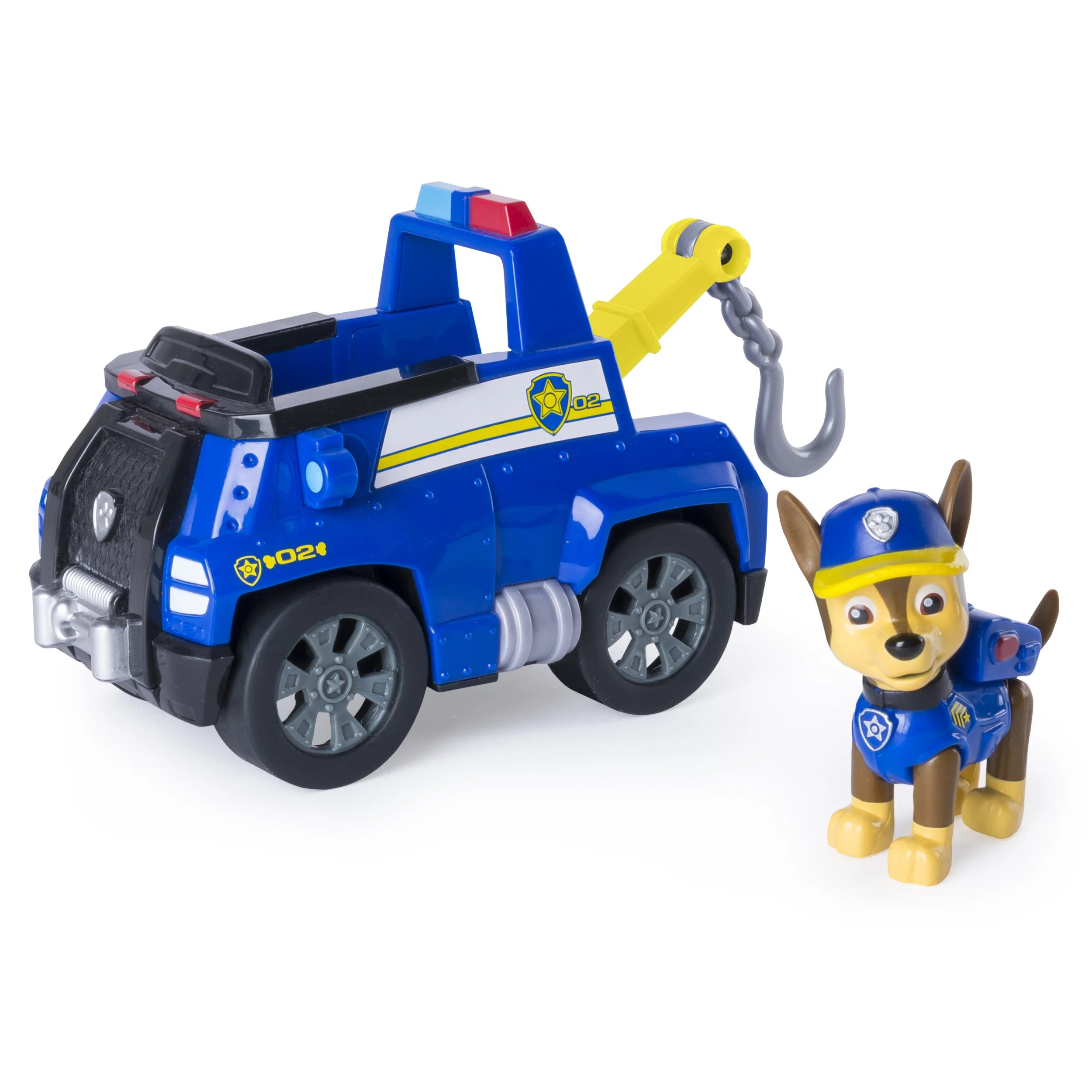 Tow Truck Paw Patrol Chase S Tow Truck Figure And Vehicle Walmart