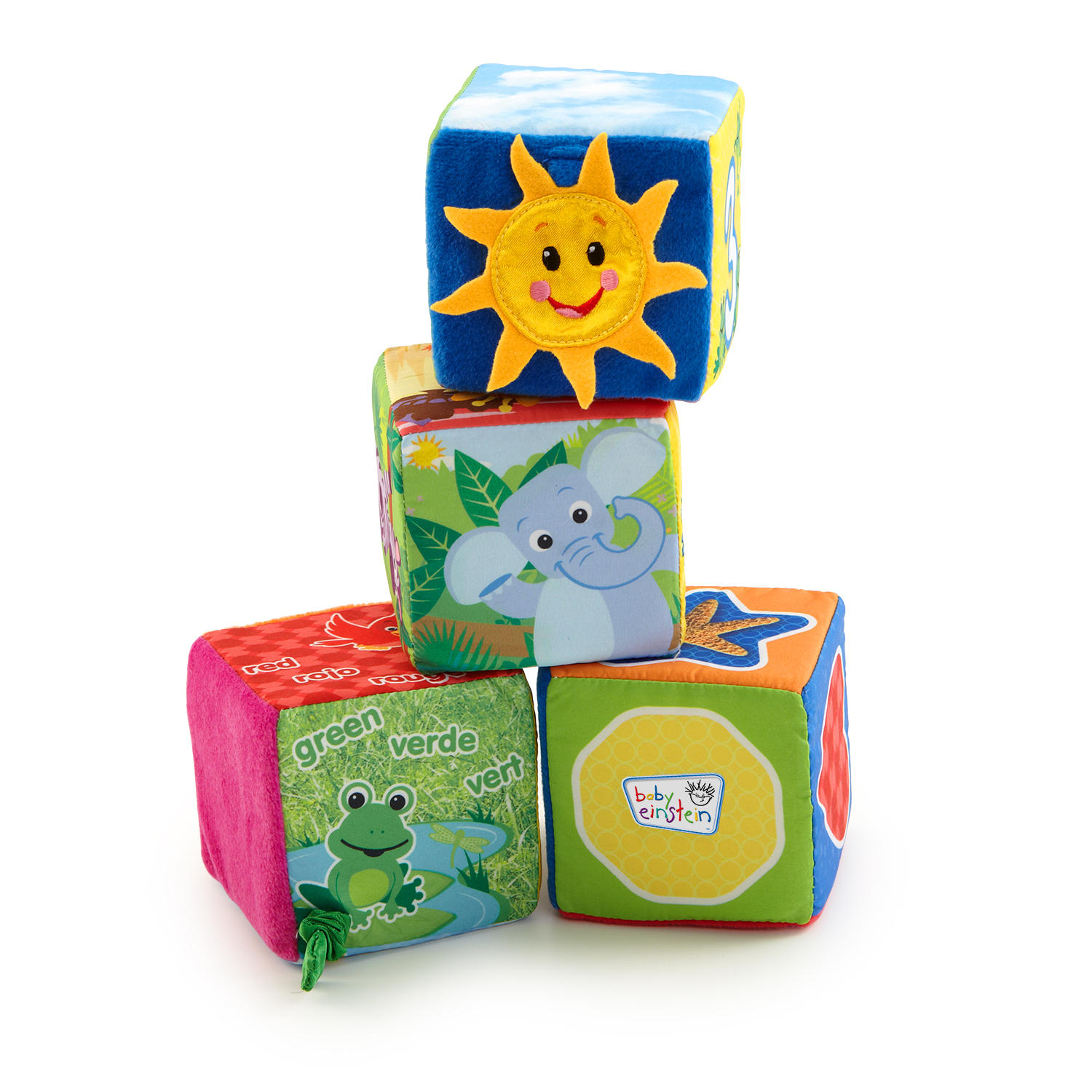 Baby Einstein Explore Discover Soft Blocks Toys